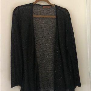 Sequin Black Cardigan